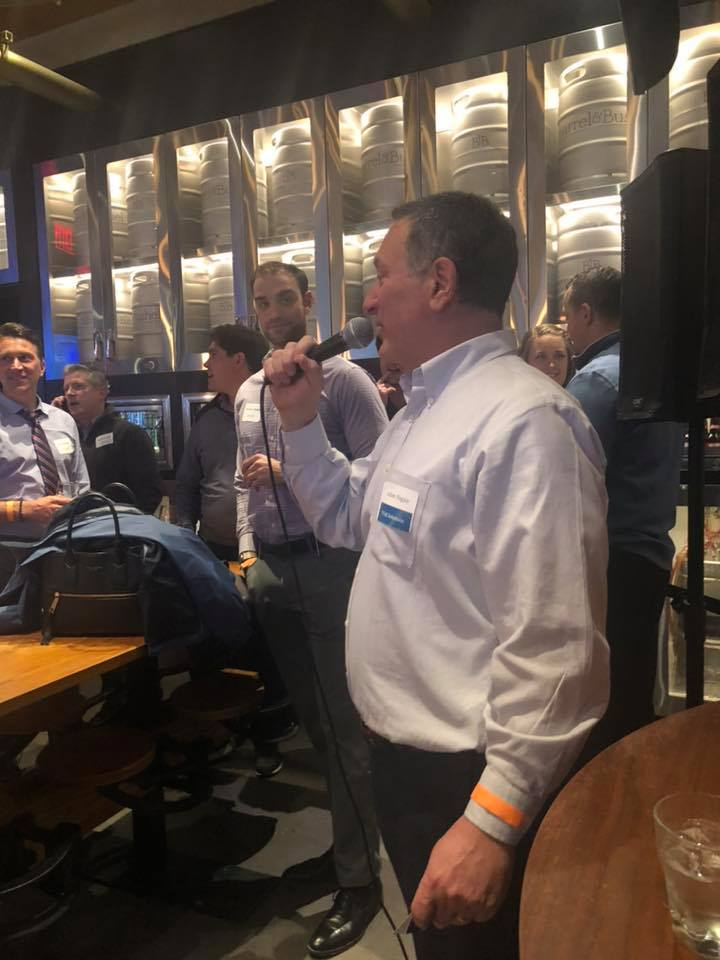 Adam speaking at our TVAR Solutions 5th Annual March Madness Event