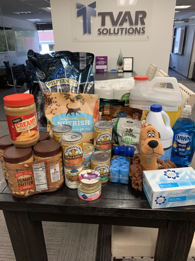 Pet Supply Food Drive Collection