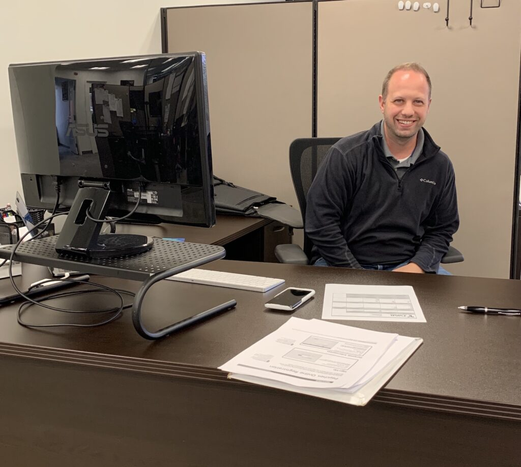 Scott's First Day at TVAR Solutions